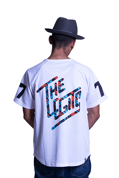 The Legits Paradise Jersey Tee back
