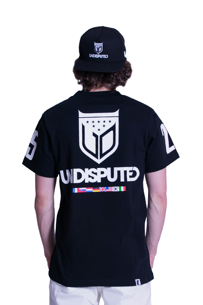 The Legits Undisputed Tee back