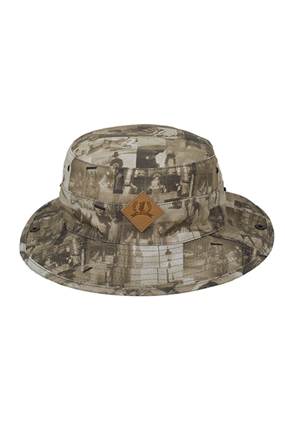 Impact bucket hat top