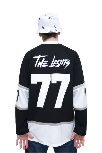 FLAMINGO HOCKEY JERSEY back