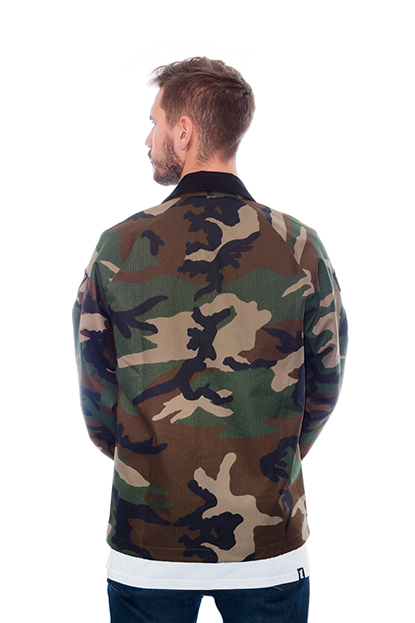 Nation of Doers - Camo Jacket back