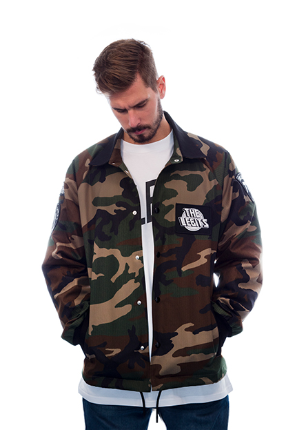 Nation of Doers - Camo Jacket front