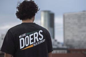 Nation of Doers - Tee-with slogan